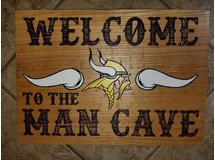 Welcome to the Viking Man Cave (horns/Viking)
