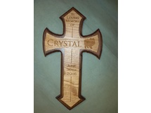 Crystal Memorial Cross 2016
