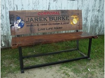 Memorial Bench- Jarek Burke