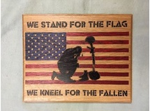 We Stand for the Flag....