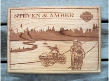 Personalized Plaque-Steve & Amber