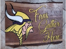 Viking Fans Gather Here