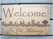 Welcome To Our Hideaway-HIckory
