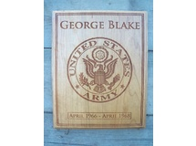 George Blake-Military Plaque
