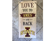Love You To Ames.... (Painted)