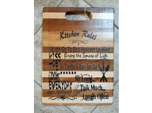 Kitchen Rules Cutting Block