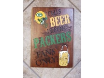 This Beer is for Packer Fans Only