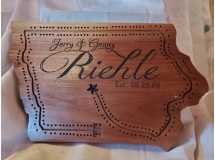 Riehle Cribbage Board