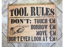 Tool Rules-painted