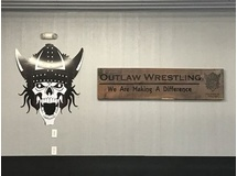 Outlaw Wrestling Sign