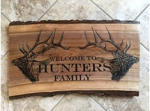 Welcome to Hunter's Family-Painted