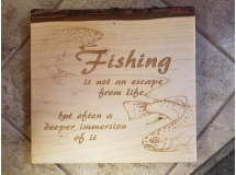 Fishing is not an escape...
