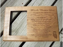 Marcella Lucas-Memorial Picture Frame