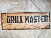 Grill Master with hooks